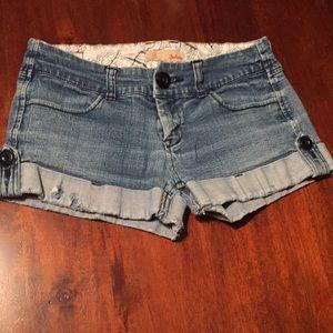 Jalato denim shorts size 7